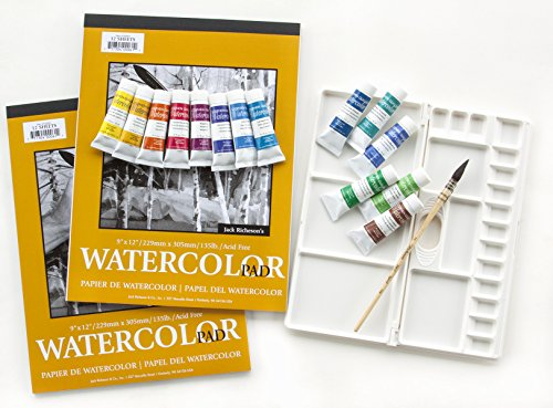 Susan Giannantonio Professional Water Sketching Paint Kit (Palette Quiller)