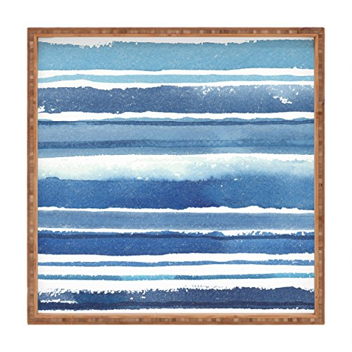 Cheap  Deny Designs Kerrie Satava Caribbean Shore Indoor/Outdoor Square Tray, 12