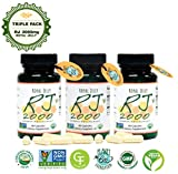 GREENBOW Royal Jelly 2000mg Equivalency – Non GMO Made with Organic Royal Jelly - One of the Most Nutrition Packed Diet Supplements – Certified Vegan Capsules (Triple Pack_3-60 Capsules)