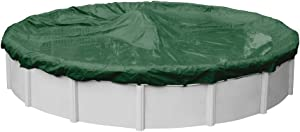 Robelle 3721-4 Supreme Winter Pool Cover for Round Above Ground Swimming Pools, 21-ft. Round Pool