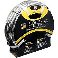 Forever Steel Hose (25' 304 Stainless Steel Garden Hose -...