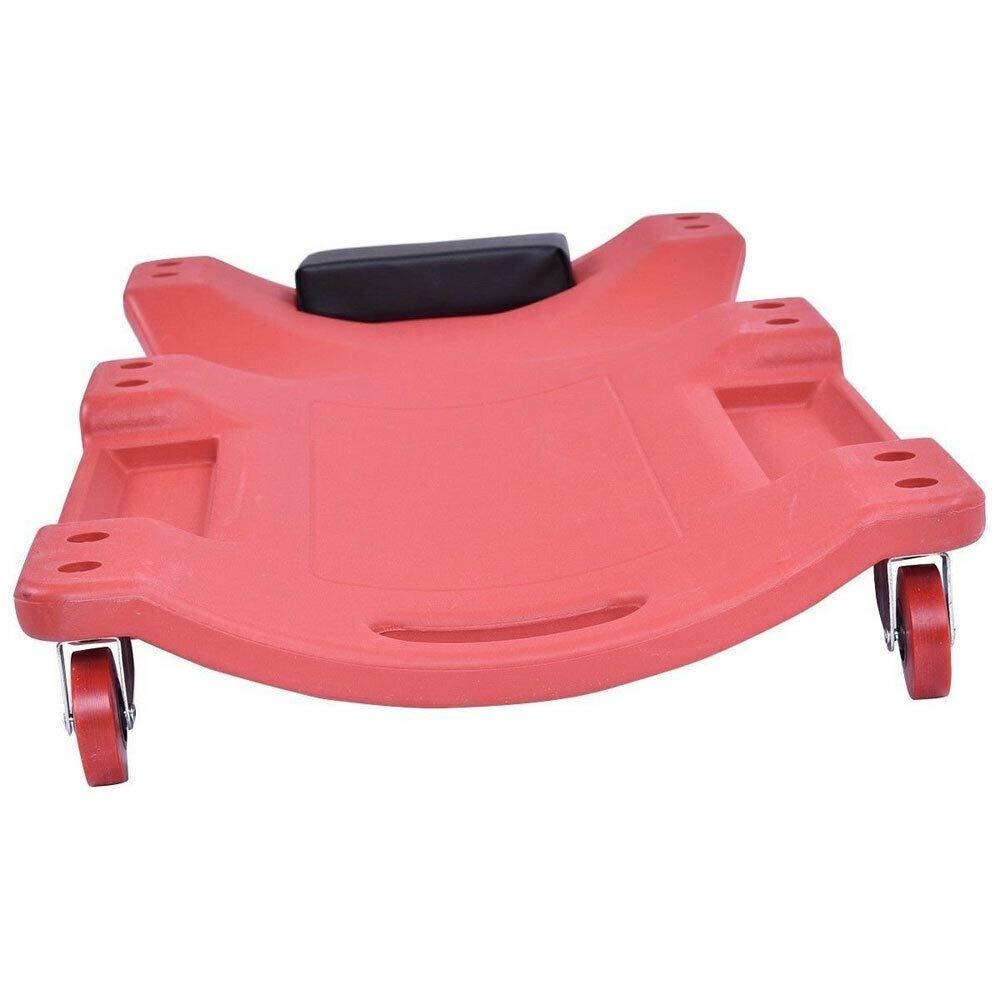 Adumly Size 36''Garage Mechanics Work 360-Degree Rolling Repair Creeper Seat Plastic