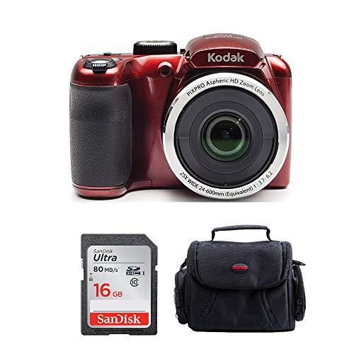 (Kodak PIXPRO AZ252 Point and Shoot Digital Camera with 3