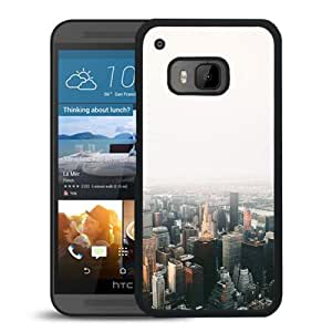 New Custom Designed Cover Case For HTC ONE M9 With Mo Jonas Nillson Newyork Architecture City Sky Phone Case