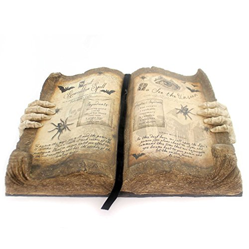 Halloween GRIMOIRE BOOK OF MAGIC Paper Pulp Spells Spirit Resurrection Td5055 ()