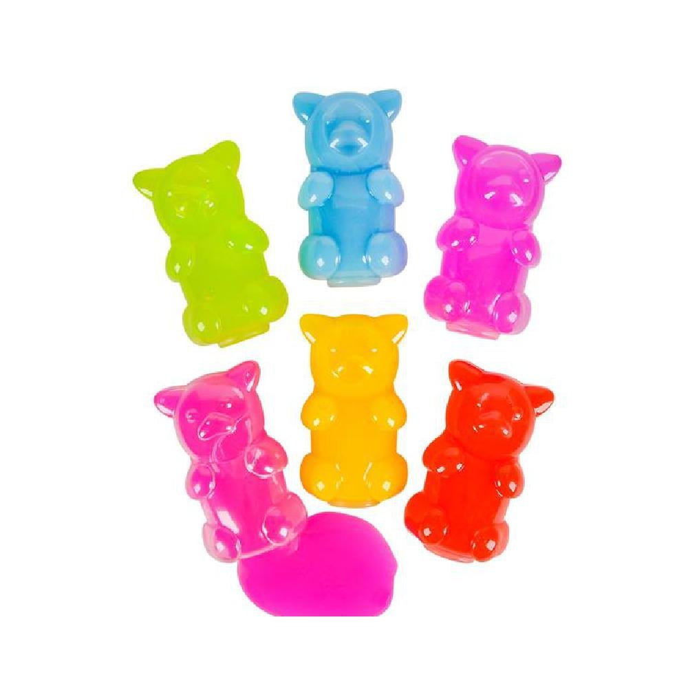 3.25'' Gummy Bear Slime (With Sticky Notes) by Bargain World