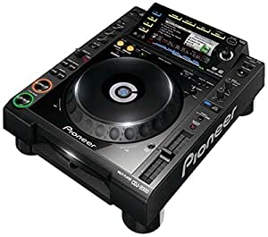 Pioneer CDJ-2000 Professional Multi Player - reproductores de dvd (LCD, 234 x 480 Pixeles, AAC, AIFF, MP3, WAV, 3,5 mm, 4000 - 20000 Hz, SD)