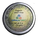 DanuGreen Natural Organic Mosquito Repellent Ban Bugs Balm (4 ounce Tin)