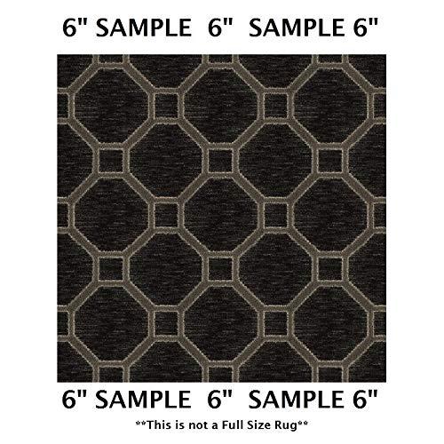 Koeckritz Rugs Sample Swatch - Velvet, Milliken Carpet - Delicate Frame Pattern | Designers Dream Collection