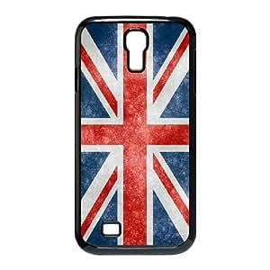 Grunge British Flag Samsung Galaxy S4 9500 Cell Phone Case Black Phone Accessories SH_825136