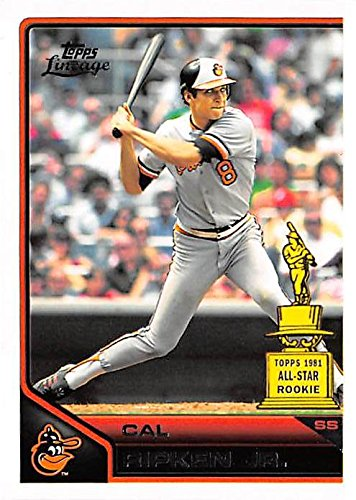- Cal Ripken Jr baseball card (Baltimore Orioles Hall of Fame) 2011 Topps Lineage #194 All Star Rookie Cup