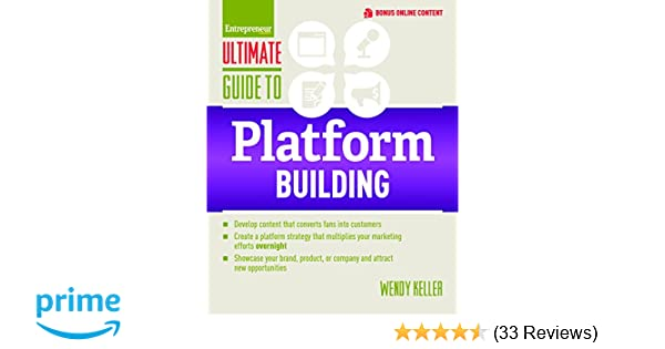 Amazon com: Ultimate Guide to Platform Building (Ultimate