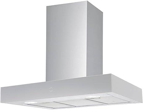 Potente Plasma filtro Campana, 60 cm, moderno acero inoxidable Touch Distancia y Eco LED Iluminación Krona