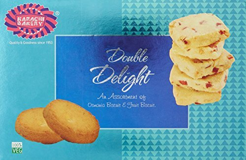 Karachi Bakery Double Delight Fruit Biscuit With Osmania, 400G by Karachi Bakery (Image #1)