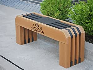 Frog Furnishings Recycled Plastic Gateway Bench