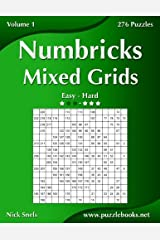 Numbricks Mixed Grids - Easy to Hard - Volume 1 - 276 Puzzles