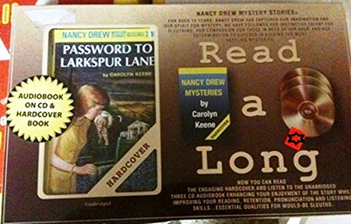 Password to Larkspur Lane: Nancy Drew Mystery With Audiobook on CD and Hardcover Book