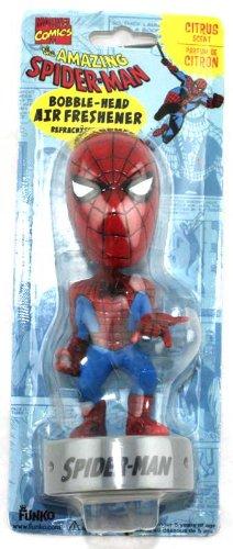 Marvel  Spider-Man Bobble-Head Air Freshener