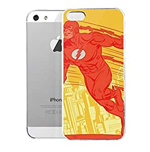 Light weight with strong PC plastic case for iPhone iphone 6 4.7 Comics DC Comics Flash Flash Cityscape