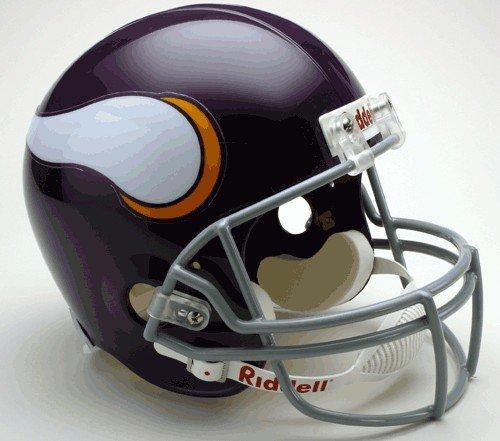 Riddell MINNESOTA VIKINGS 1961-1979 NFL Full Size REPLICA Throwback Football Helmet