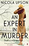 Front cover for the book An Expert in Murder by Nicola Upson