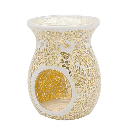 gold candle wax warmer - 1