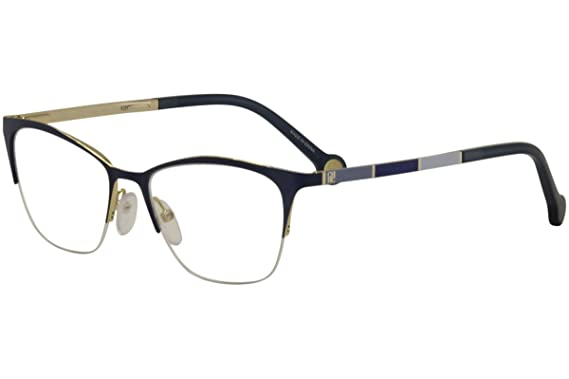 57985ff973 Image Unavailable. Image not available for. Color  CH Carolina Herrera  Women s VHE076K VHE 076K 0354 Navy Optical Frame 51mm