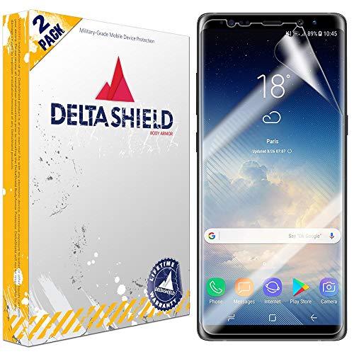 DeltaShield Screen Protector for Samsung Galaxy Note 8 (2-Pack)(Case Compatible Design) BodyArmor...