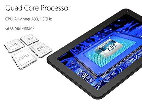 Hanbaili (US Plug) Tablet Pc, 7''A33GoogleAndroid4.4QuadCoreCamera 1GB+16GBTabletPCWiFiBluetooth by Hanbaili (Image #2)