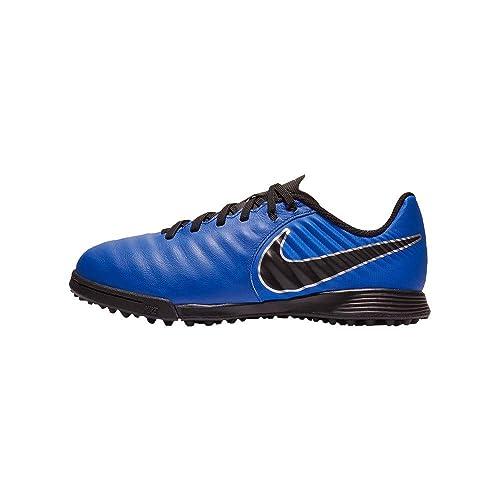 Botas de Fútbol NIKE JR Tiempo Legend 7 Academy TF: Amazon.es: Zapatos y complementos