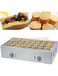 220v Electric Dorayaki Azuki Bean Pancake Maker Machine Baker Iron Mold