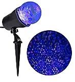 Disney Swirling White, Blue, Purple LED Christmas Spotlight Projector