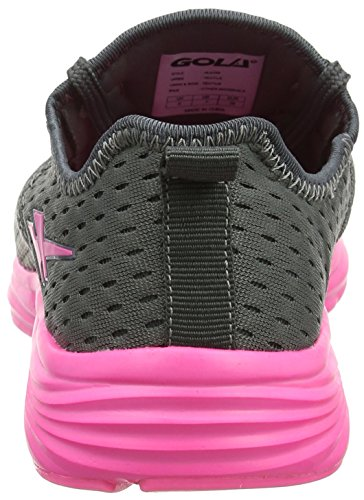 pink Indoor Scarpe grey Grigio Donna Gola Sondrio Sportive tUq07