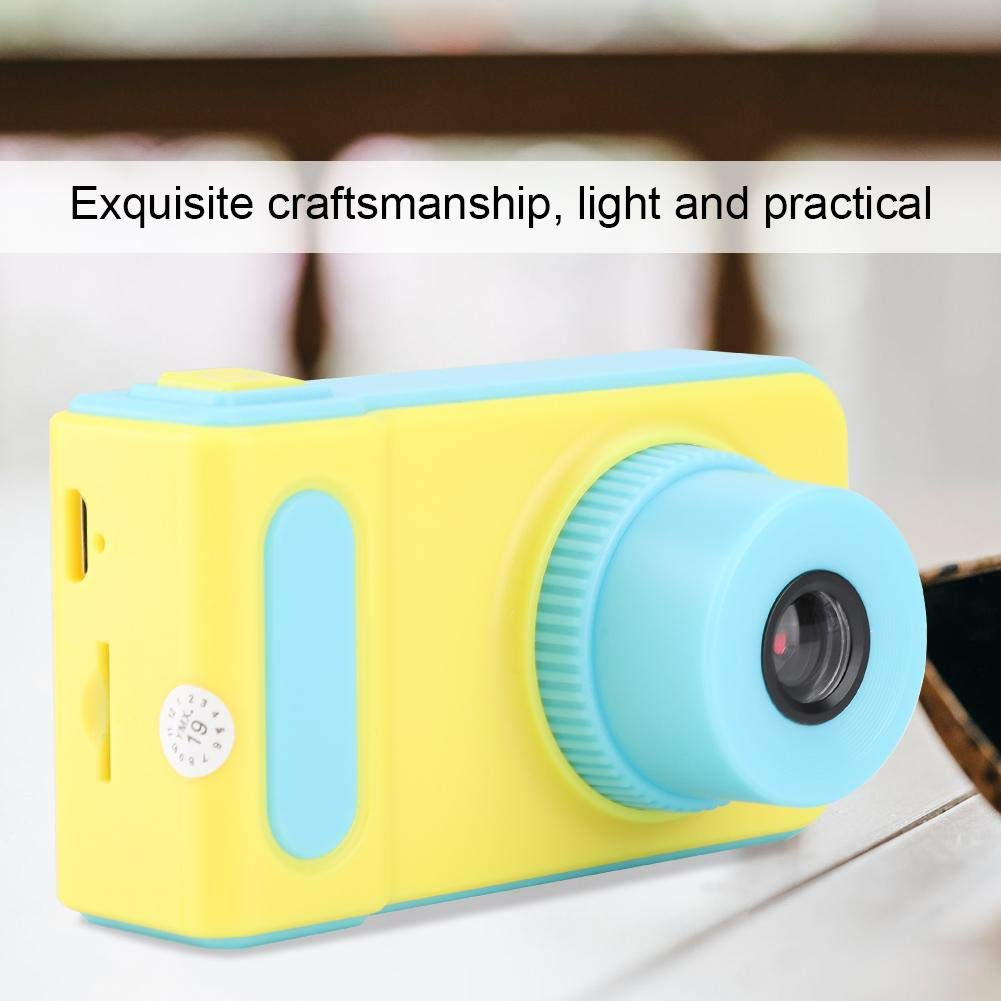 Lazmin X1 Digital Camera for Childrens, Portable HD 1080P 2inch Cartoon Video Recorder Camcorder Toys for Kids Birthday Gift by Lazmin (Image #2)
