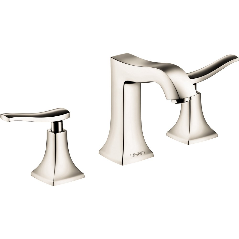 Hansgrohe 31073831 Metris C Widespread Faucet, Polished Nickel ...