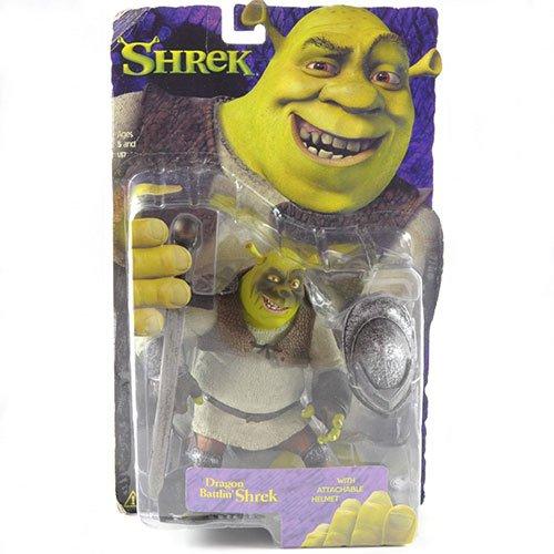 McFarlane Toys -- Dragon Battlin' Shrek with Attachable Helmet (Toys Shrek)