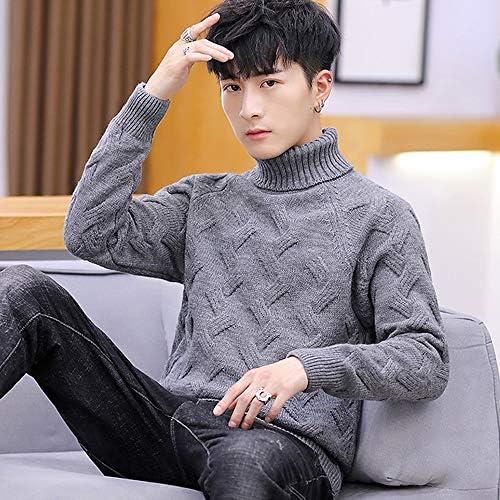 タートルネック セーター メンズ ハイネック ニット 学生 ビジネス 暖かい インナー リブ 長袖 大きいサイズ 正規品 cmb24297