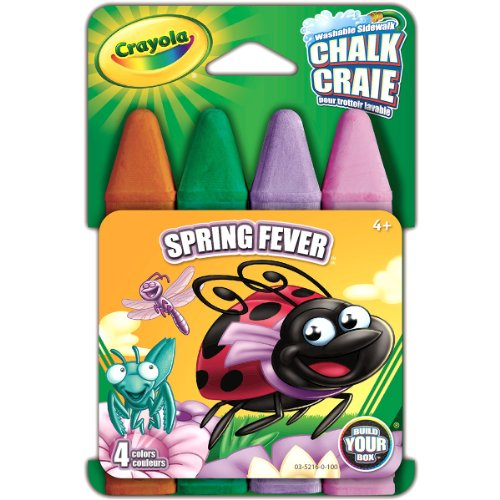 Crayola Build Your Box Spring Fling Chalk (4 Count)