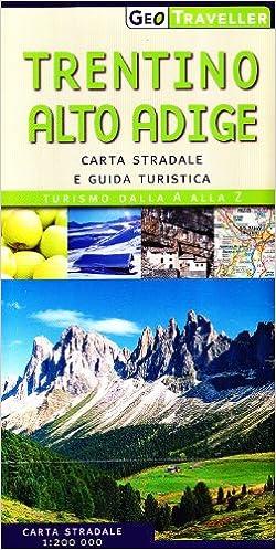 Cartina Stradale Del Trentino Alto Adige.Amazon It Trentino Alto Adige Carta Stradale E Guida Turistica De Agostini Libri