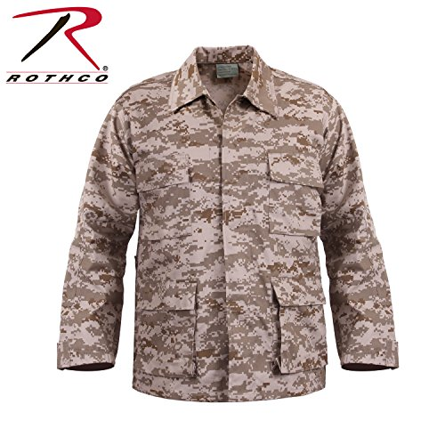 ULTRA FORCE BDU SHIRT - DESERT DIGITAL CAMO 2 - Camo Force Ultra