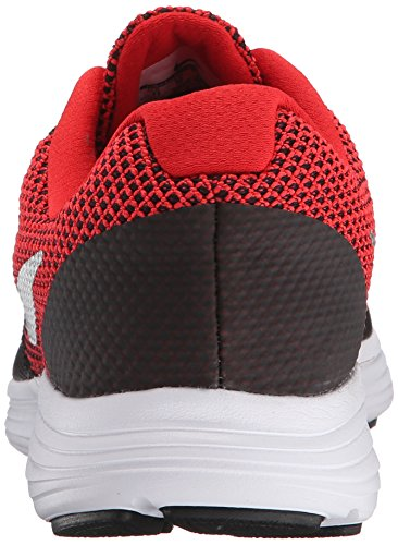 Nike Revolution 3 (4e), Zapatillas de Running para Hombre Rojo (University Red / Metallic Silver-Black)