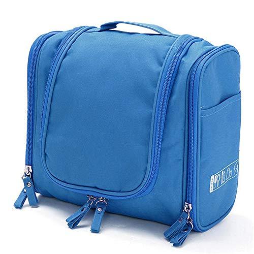 Almacenamiento Multifunción Aseo Sky Blue Taihang Color Cosméticos Organizador Cremallera Bolsas De Estuche Maquillaje Viaje Tx5wgqB