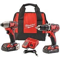 Milwaukee M18 Cordless Drill & Impact Driver Kit