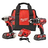 Milwaukee 2691-22 18-Volt Compact Drill and Impact Driver...