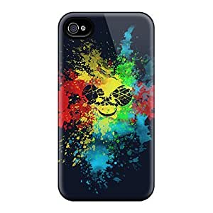 Excellent Iphone 6plus Cases Covers Back Skin Protector Dead Mau5 Color