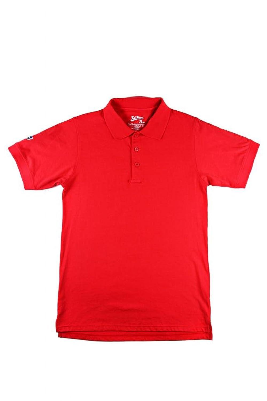 TCD INC Men's Solid Cotton Pre-Shrunk Pique Polo Shirts