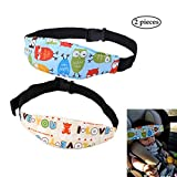 """SYOOY 2 PCS Baby Sleep Head Support Band Seat Fastening Belt for Stroller Car Seat 11"""" x 2.75"""" x 32.3"""""""