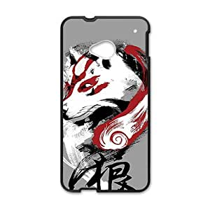 Happy Design by humans wolf Phone Case for HTC One M7