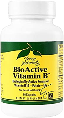BioActive Vitamin B EuroPharma (Terry Naturally) 60 Caps