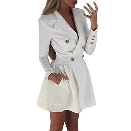 🌷 Vestido de Mujer,Wave166 🌷 Mujeres Tallas Grandes Blazer ...